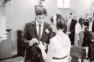 Der Ring Hochzeit im Rosengarten Westerhof