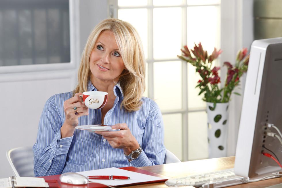 Frauke Ludowig GALA Kaffee