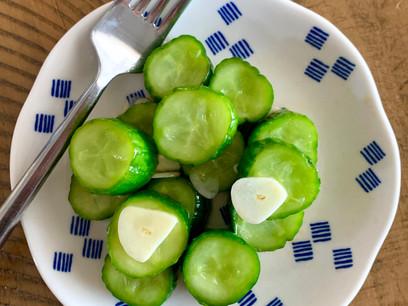 Taiwanese Style Cucumber Salad