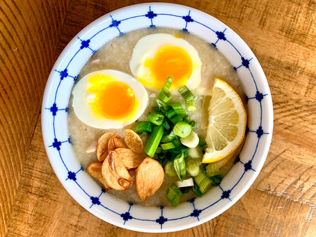 Arroz Caldo (Filipino Rice Porridge)
