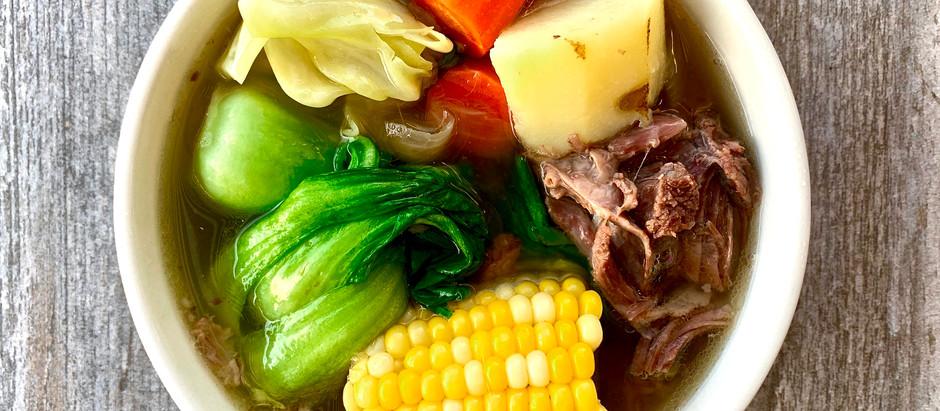 Bulalo (Beef Bone Marrow Soup)