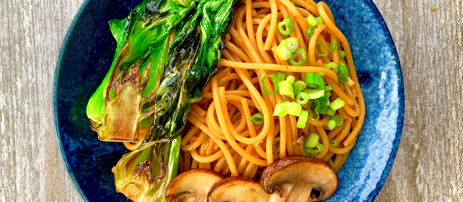 15 Minute Sichuan Peanut Noodles