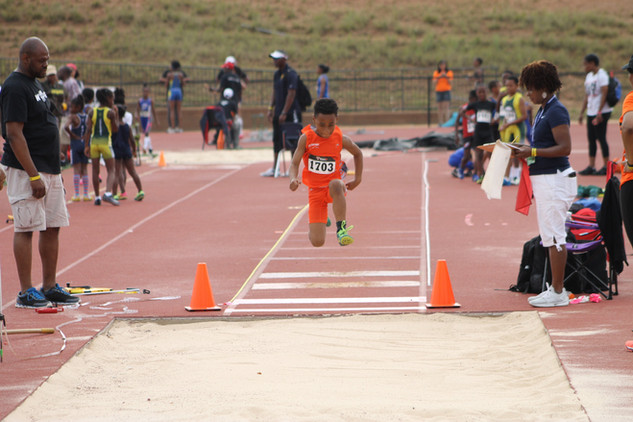 Dominic Williamson Long Jump