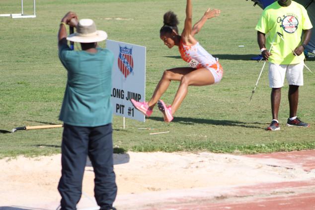 Ladaijahnae Miller Triple Jump