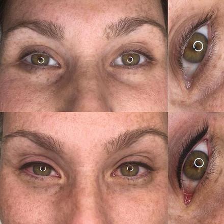Eyeliner makes the eyes pop so much! ✨_.