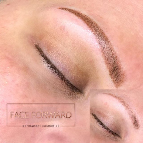 Bye Bye 👋 old #Microblading ..._Hello #