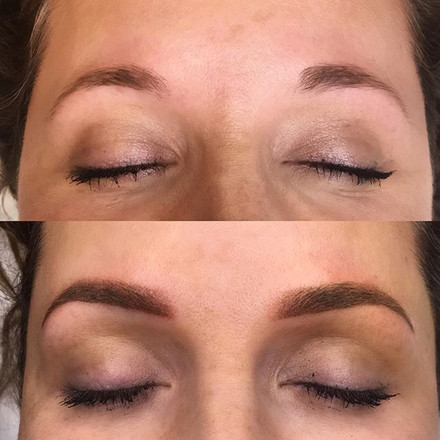 What a transformation!!! 😍 Brows can tr
