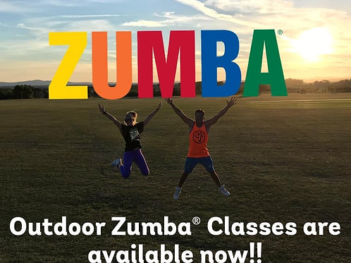 Mondays + Thursdays outdoor ZUMBA at 6pm - Monthly deal (May) Pershore