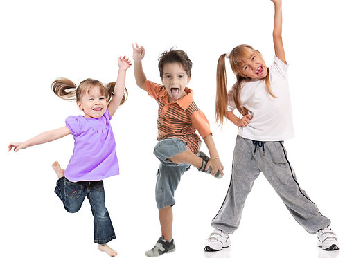 Pre-recorded Zumba Kids class - Monthly (Dec)