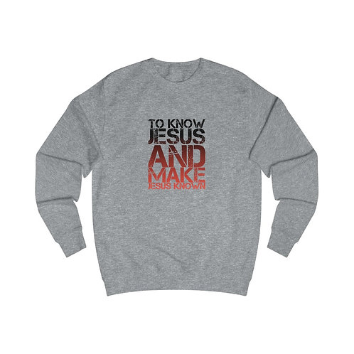 Mission Statement Sweatshirt