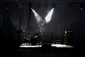 Stage in the Spot Lights