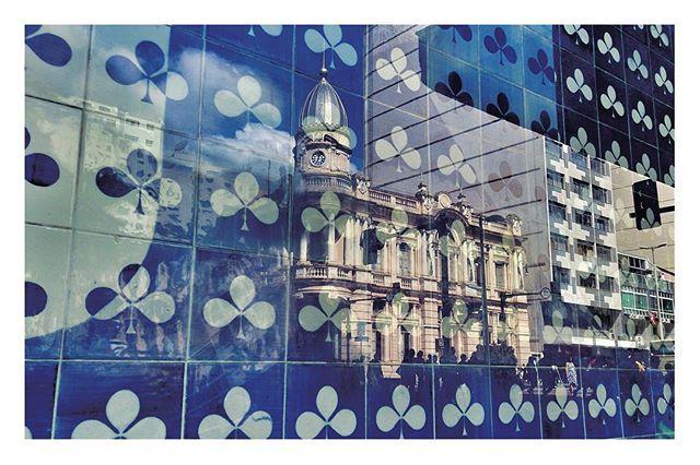 Finalizando a apresentação da coleção de postais #JFpramim__Reflexões Históricas - Reflexo do antigo
