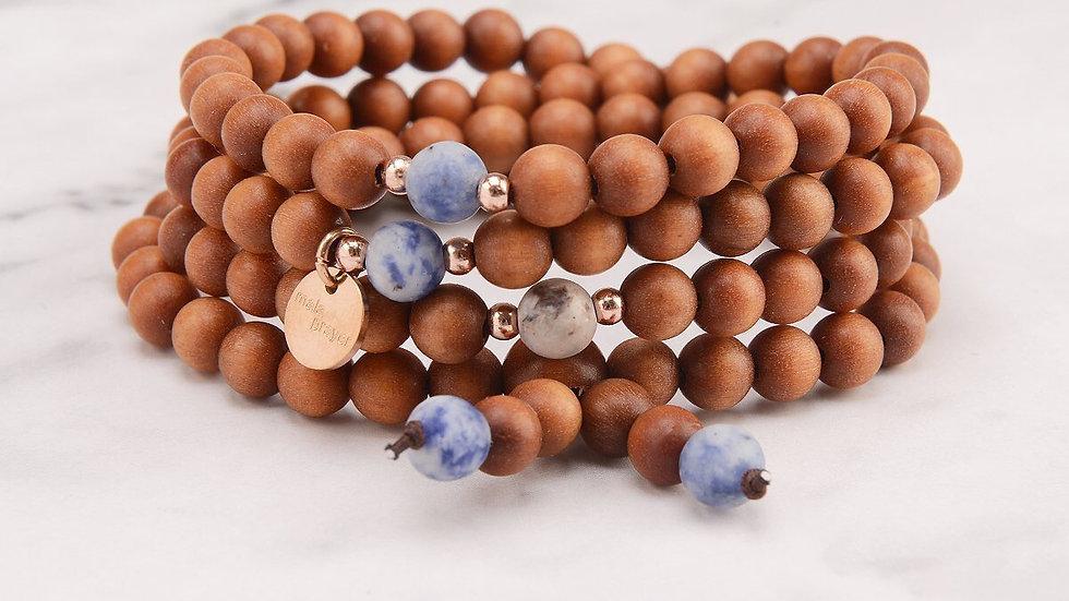 Berry 108 Bead Bracelet