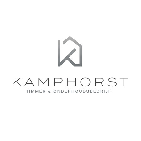 Logo ontwerp Timmer- en onderhoudsbedrijf Kamphorst