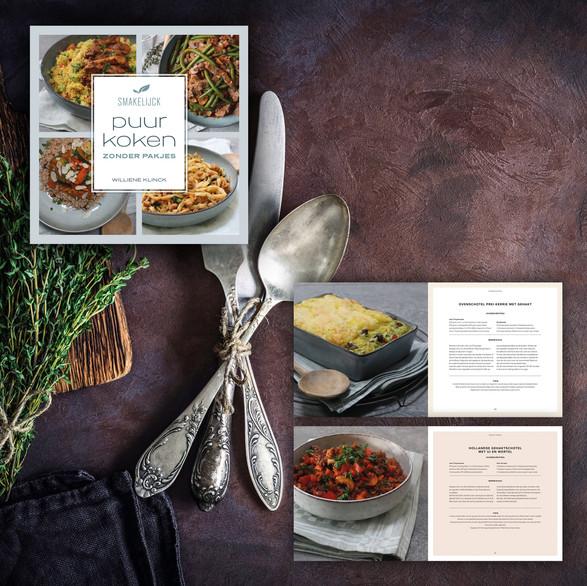 Kookboek 'Puur koken'