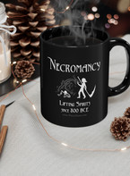 Necromancers need business logos too. New drinkware and apparel now in the store!