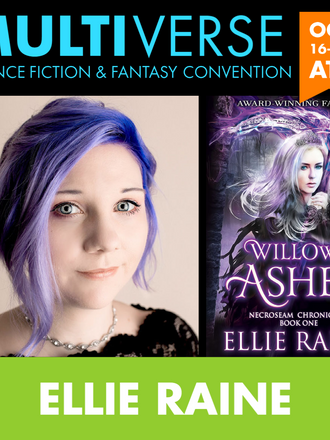 Join Ellie Raine at Multi-virtual - Multiverse convention online! THIS WEEKEND!