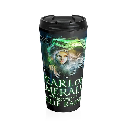 Pearl of Emerald Stainless Steel Travel Mug