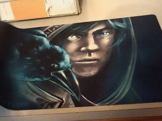 XAVIER AND RAVEN PROTOTYPE PLAYMAT!