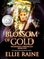 Ellie Raine wins Silver Medal in fantasy for Readers' Favorite Awards!