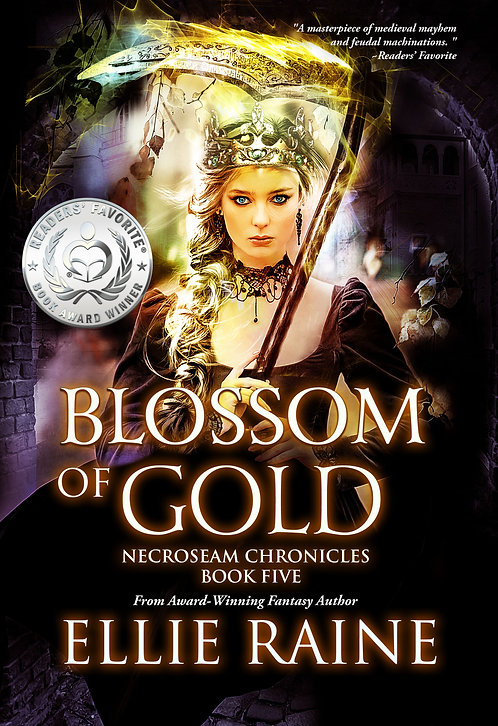 SIGNED - Blossom of Gold (NecroSeam Chronicles Book #5)