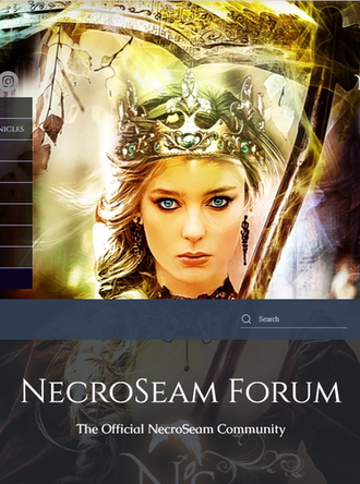NecroSeam Forum officially up and running