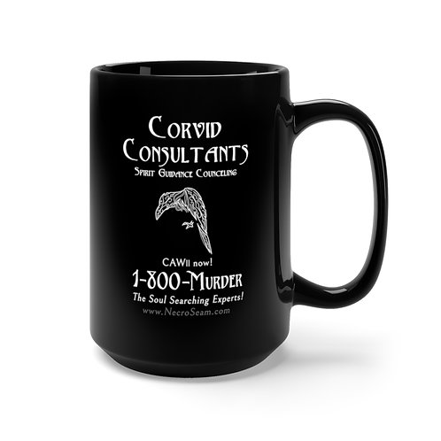 Corvid Consultants - Black Mug 15oz
