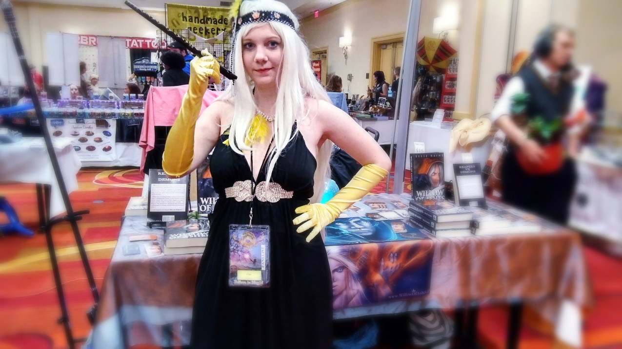 Ellie as 1920's Hufflepuff Willow