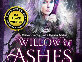 Summer Sale! $0.99 Willow of Ashes eBook!