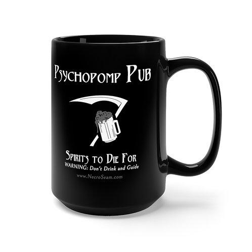 Psychopomp Pub - Black Mug 15oz