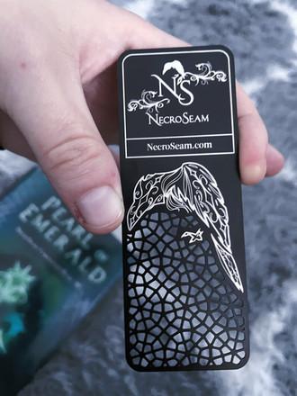 NecroSeam metal Bookmarks?! and Multiverse Con announcement!