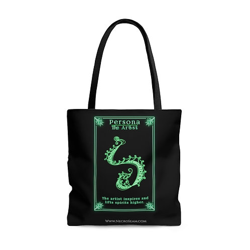 The Artist-Oracle Card-Tote Bag