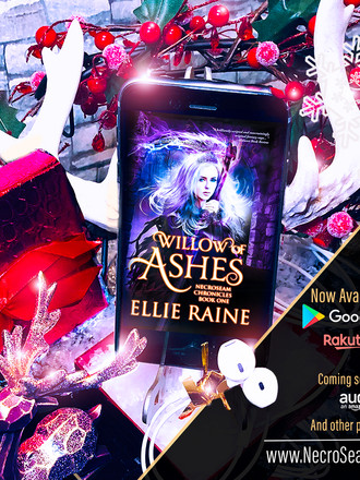 IT'S HERE! Willow of Ashes Audiobook is officially released!
