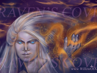 Willow Ember Playmat/ Large Mouse Pad