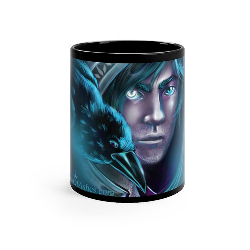 Xavier and Raven Black mug 11oz