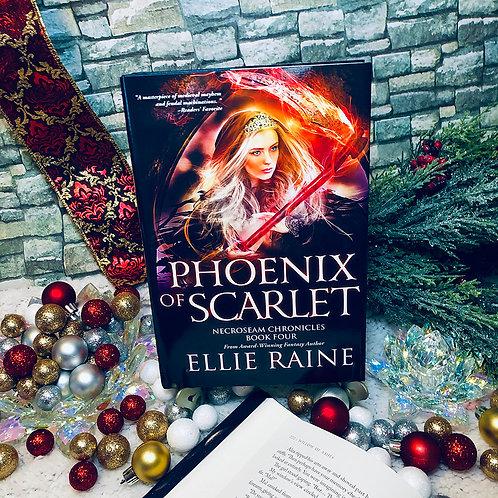 Phoenix of Scarlet (NecroSeam Chronicles Book #4)