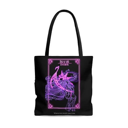 Death Royal-Oracle Card-Tote Bag