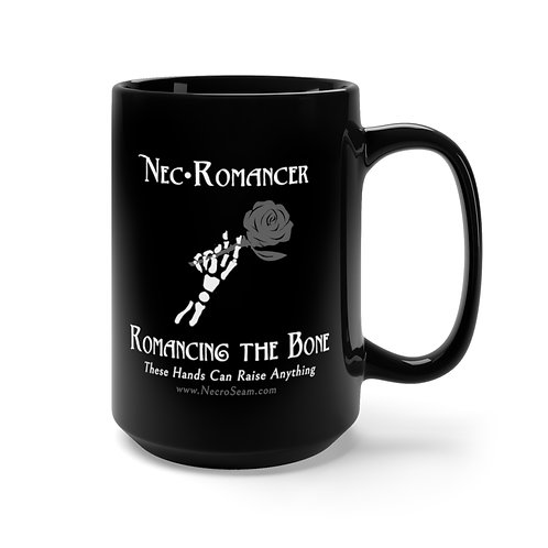 Romancing the Bone - Black Mug 15oz