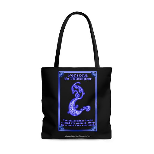 The Philosopher-Oracle Card-Tote Bag