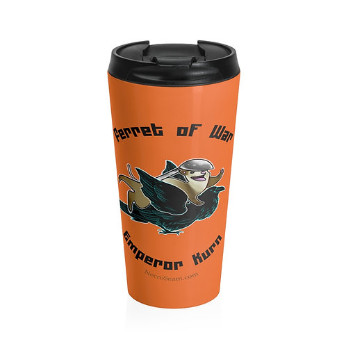Ferret of War - Stainless Steel Travel Mug