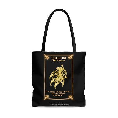The Healer-Oracle Card-Tote Bag