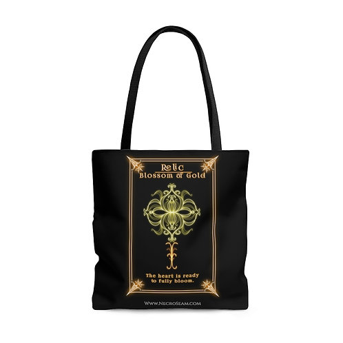 Blossom of Gold-Oracle Card-Tote Bag