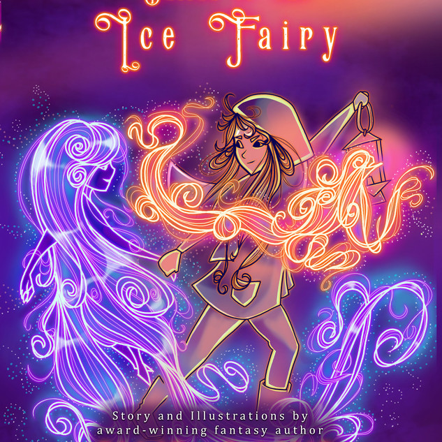 Ballad of the Ice Fairy (Children's Illustration)