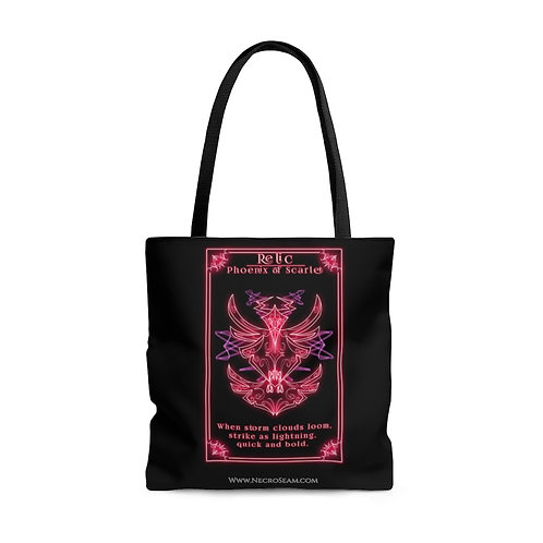 Phoenix of Scarlet-Oracle Card-Tote Bag