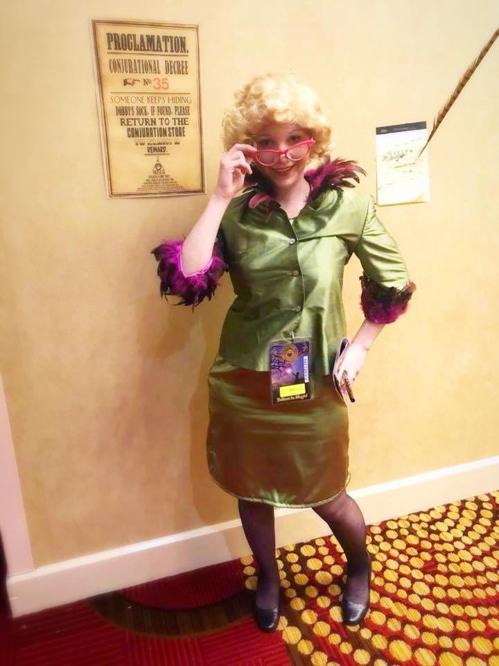 Ellie as Rita Skeeter