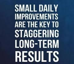 Slow Steady Change...