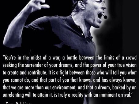 Create, Contribute, Dream - NEVER Settle...