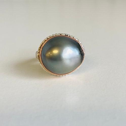 Tahitian Pearl Ring by Jamie Joseph