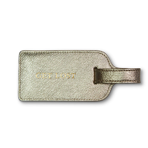 """Luggage Tag """"Get Lost"""" by Kempton"""