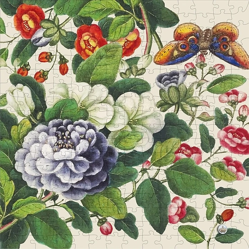 250 Piece Wooden Puzzle: Vintage Botanicals